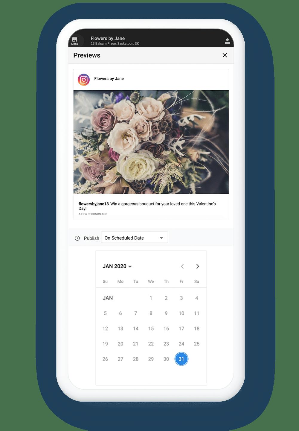 Instagram Scheduling