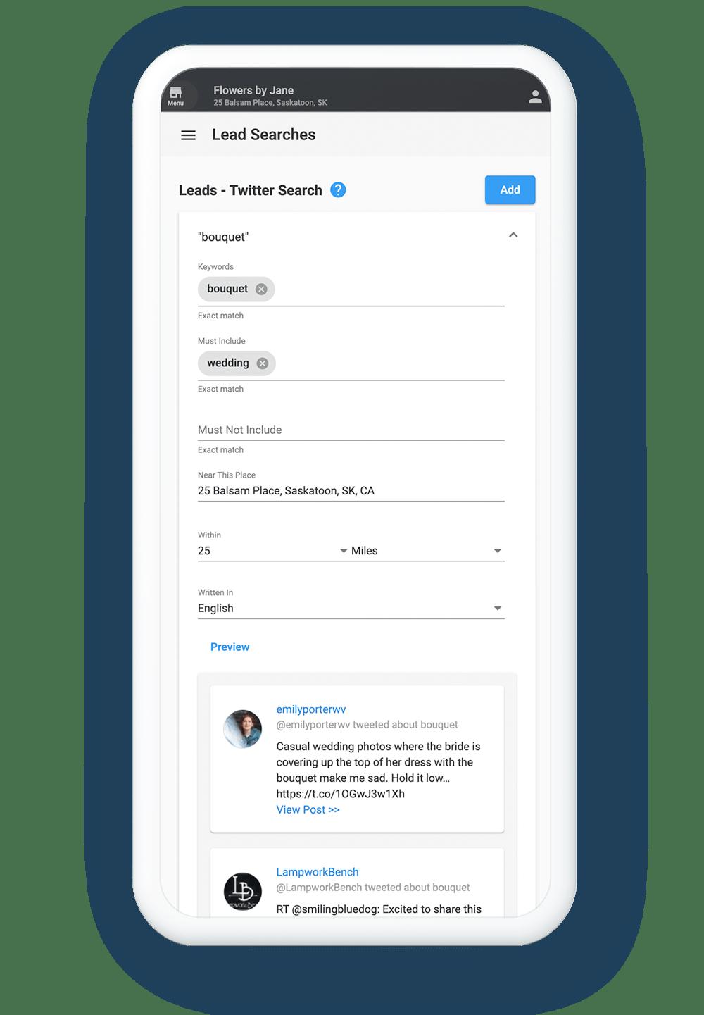 Lead Searches